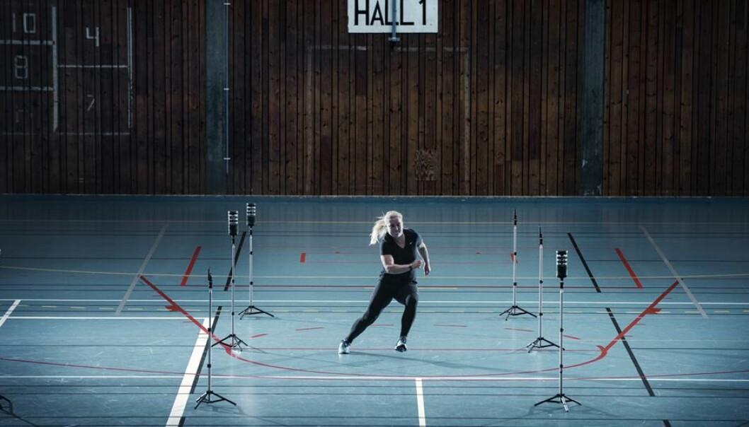 Forsker har undersøkt om det er forskjell på hva kvinnelige håndballspillere gjør i kamp og hva de gjør på trening. (Foto: NIH)