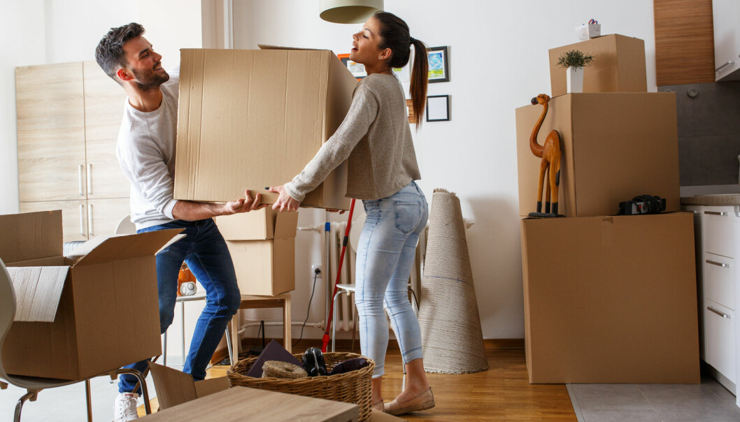 Det kan være avgjørende hvem du kjenner når du skal flytte inn i din første leilighet. (Foto: Solis images/Shutterstock/NTB scanpix)