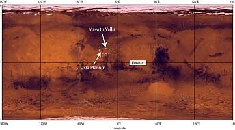 Her skal forskerne lete etter vann på Mars