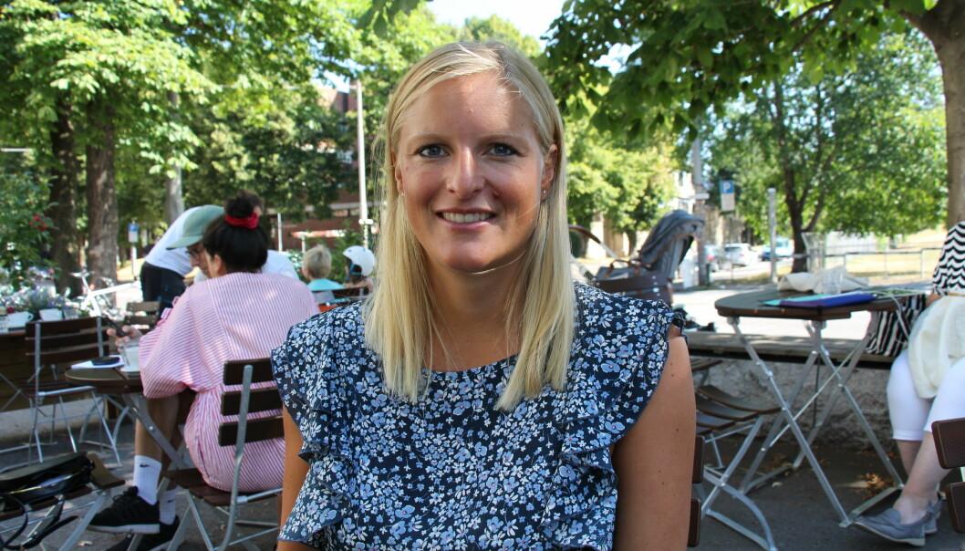 Ida Lunde jobber for å bevise at det er en egen genmutasjon som forårsaker hjertesvikt. (Foto: Nasjonalforeningen for folkehelsen)