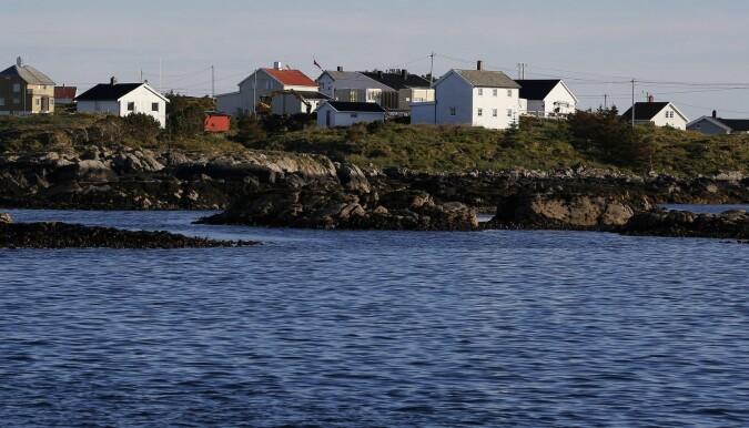 Mausund ligger utenfor kysten av Trøndelag. Det gamle fiskeværet var base for forskerne da de undersøkte øyriket Froan. (Foto: Zsolt Volent)
