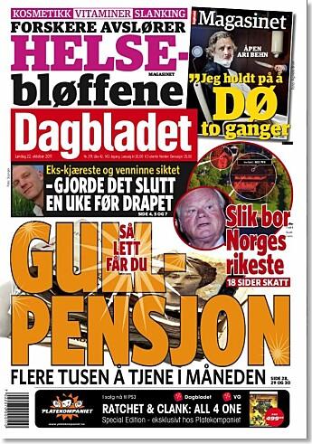 Forskerne fant ikke overraskende at spesielt Dagbladet satset mye på det som kalles du-journalistikk når de skrev om pensjon. Aftenposten og Dagens Næringsliv hadde mer fokus på pensjon og politikk.