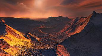En planet i vårt stjerne-nabolag