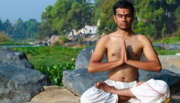 Transcendental meditasjon stammer fra India og hører opprinnelig under hinduistisk tradisjon.  (Foto: Nila Newsom / Shutterstock / NTB scanpix)