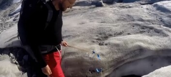 Over 1000 år gamle ting smelter ut av fjell-isen i Norge