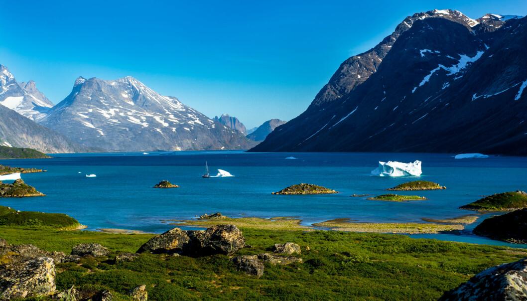 Forskerne vet fortsatt ikke hvor viktig den nyoppdagede metankilden på Grønland er i det samlede klimaregnskapet. (Foto: Shchekodin Mikhail / Shutterstock / NTB scanpix)