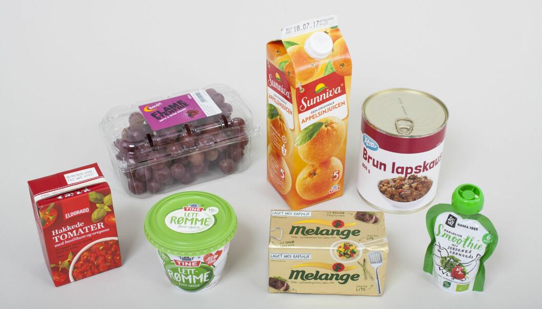 En grundig undersøkelse viser at kjemiske stoffer i norsk matemballasje ikke smitter over i maten.  (Foto: Nofima)