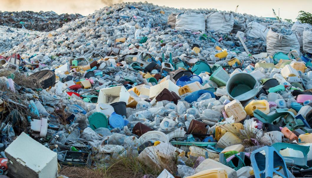 En søppeldynge for plast. (Foto: MOHAMED ABDULRAHEEM / Shutterstock / NTB scanpix)