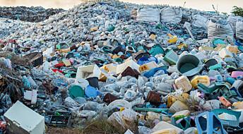 Hvor mye plast har vi laget og hvor har den blitt av?