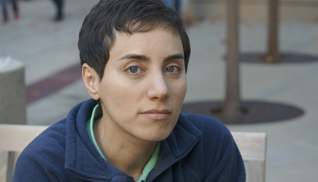Mirzakhani var professor ved Stanford-universitetet i California. Hun hadde i fire år kjempet mot kreft som spredte seg til beinmargen. (Foto: AP)