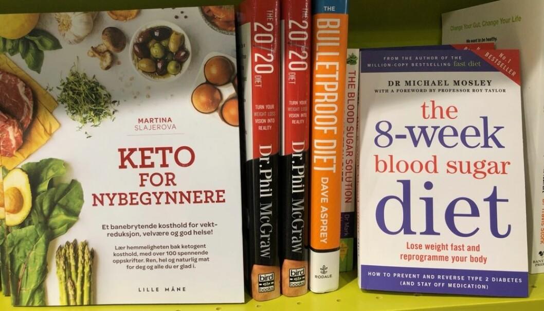 Er du i markedet for en «mirakeldiett» så har du mange å velge mellom. De har navn som Blodsukkerdiett, 20/20-dietten, Keto-diett, LCHF, Raw food, Super food, Kjernesunn familie, Blodtypedietten, 5:2 og Juicing. Også i et ekstremt sekulært land som Norge kan mennesker kjenne på at de lengter etter noe større, noe som gir livet mening. Når religionen ikke lenger fyller en slik funksjon, så er kanskje spesielle matvaner og personlig utformede dietter i stand til å gjøre det? (Foto: Bård Amundsen)