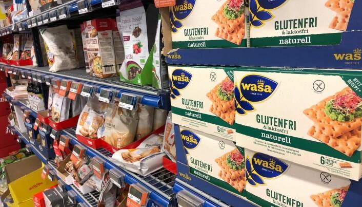Listen over nei-mat og nei-ingredienser blir stadig lengre. Nei-mat kan være brød, poteter, hvetemel, melk, sukker, soya og produkter med gluten. Matkjeder som Rema 1000 registrerer selvfølgelig dette og følger opp med egne spesialavdelinger i butikkene sine, der ulike spesialprodukter kan kjøpes til en høyere pris enn vanlige produkter. En vanlig Rema 1000-butikk har nå cirka 30 hyllemeter med spesialmatvarer.