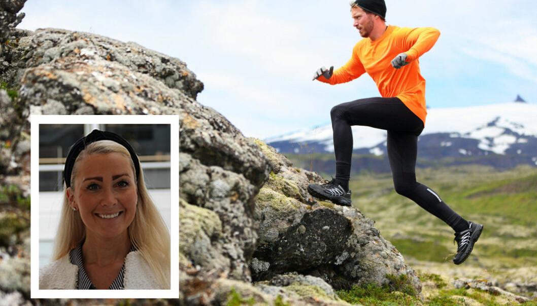 Lene Torjul Reutz har skrevet årets beste medlemsartikkel på forskning.no i år. Den handler om fysisk aktivitet i befolkningen. (Foto: Høyskolen i Kristiania og Maridav / Shutterstock / NTB scanpix)