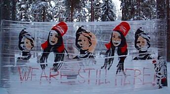 Samiske kunstnere bruker sterke politiske virkemidler