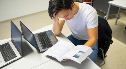 Sterk sammenheng mellom skolepress og psykiske helseplager