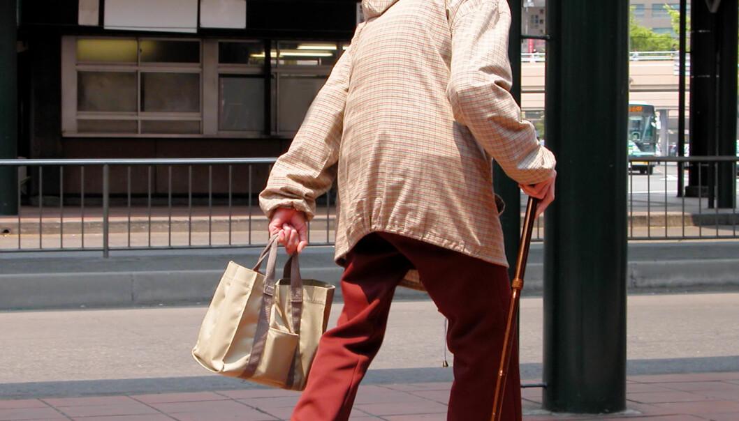 Flest butikktyverier i Japan blir begått av personer over 60 år.  (Foto: Radu Razvan / Shutterstock / NTB scanpix)