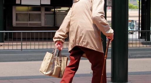 I Japan begår eldre flere forbrytelser enn unge