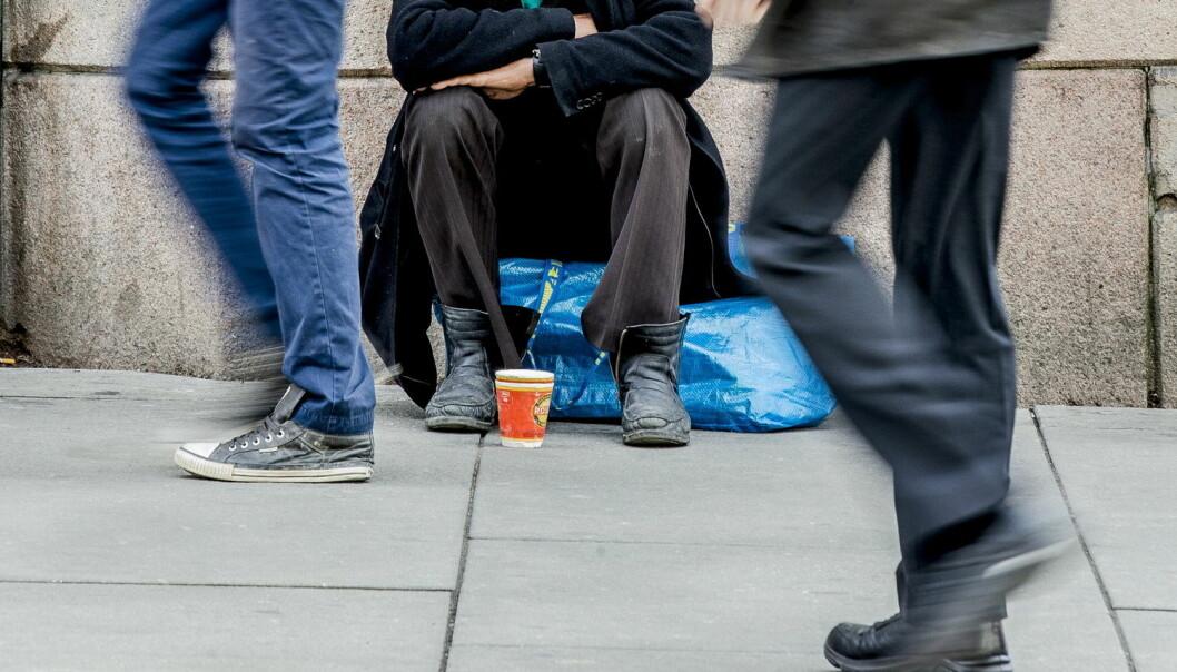 I mange land, også Norge, ser man økende sosiale ulikheter. Statistisk sentralbyrå pekte i mars på at økt aksjeutbytte blant høyinntektsgrupper er en viktig årsak til ulikhetene i Norge. Innvandring spiller også inn. (Foto: Stian Lysberg Solum / NTB scanpix)