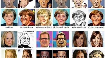 Forskere lager datagenererte karikaturer