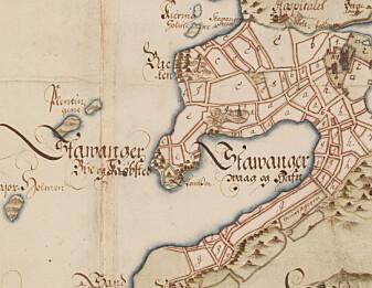 Slik var gården Stavanger før den ble by