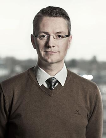 Rune Sandbakken er seksjonssjef for sattelittkommunikasjon ved Norsk Romsenter. (Foto: Norsk Romsenter).