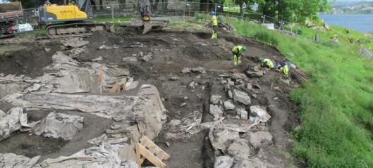 Kongsgårdsanlegg på Avaldsnes graves frem