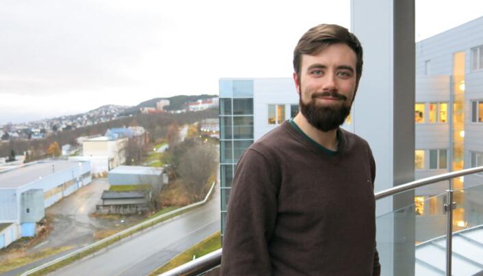 Audun Theodorsen er plasmafysiker ved UiT. (Foto: Vibeke Os)