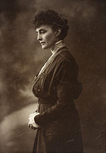 Katti Anker Møller (1868-1945) blir regnet som den som startet kampen for lovlig abort i Norge. (Foto: Ukjent fotograf / Nasjonalbiblioteket / CC-BY 2.0)