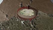 Enormt krater oppdaget: Meteoritt rammet Grønland med kraft som 47 millioner Hiroshima-bomber
