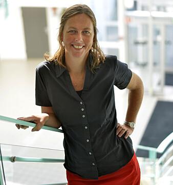 Forsker Monica Gundersen Mitchell. (Foto: UiS)