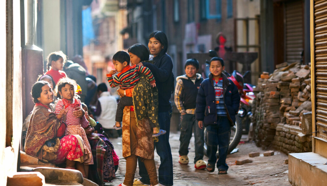 Nepal ligg høgt oppe i fjella, og fjellfolket et svært lite fisk og sjømat, så jodmangel har brukt å vere eit stort problem. (Foto: Shutterstock / NTB scanpix)