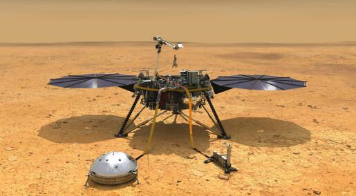 Derfor lander InSight på det kjedeligste stedet på Mars