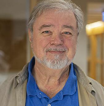 James Lewis er professor ved UiT. ( Foto: CAS/ Camilla Kottum Elmar)