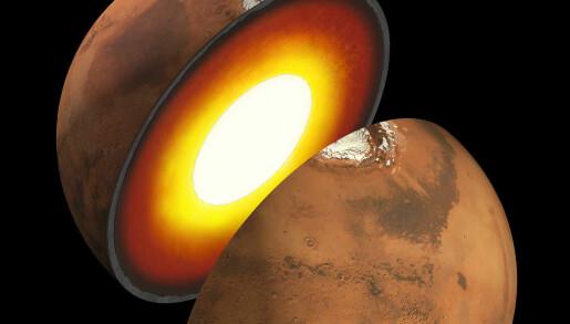 Hva er inni Mars?