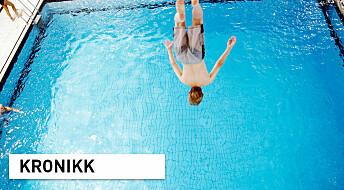 Dramatisk for svømmeopplæring, folkehelse og svømmeidrett