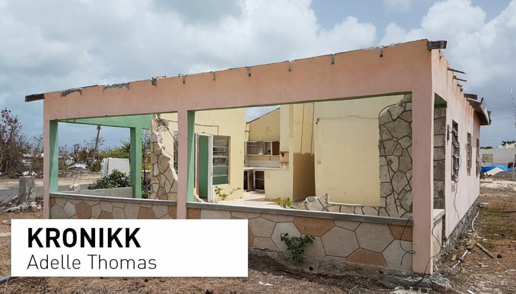 Bermuda har fortsatt ikke hentet seg inn etter orkansesongen i 2017. Naturkreftene ødela hus og jagde mennesker på flukt over hele regionen. (Foto: Adelle Thomas)