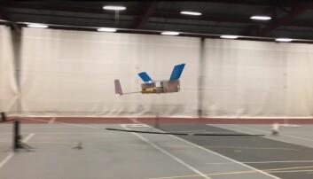 Dette flyet flyr uten noen bevegelige deler
