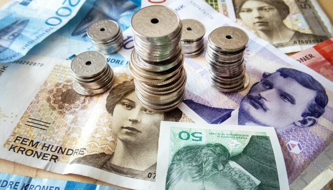 Det er svært lønnsomt å drive inkasso i Norge sammenlignet med andre land, ifølge en gjennomgang NRK har gjort. (Foto: Gorm Kallestad / NTB scanpix)
