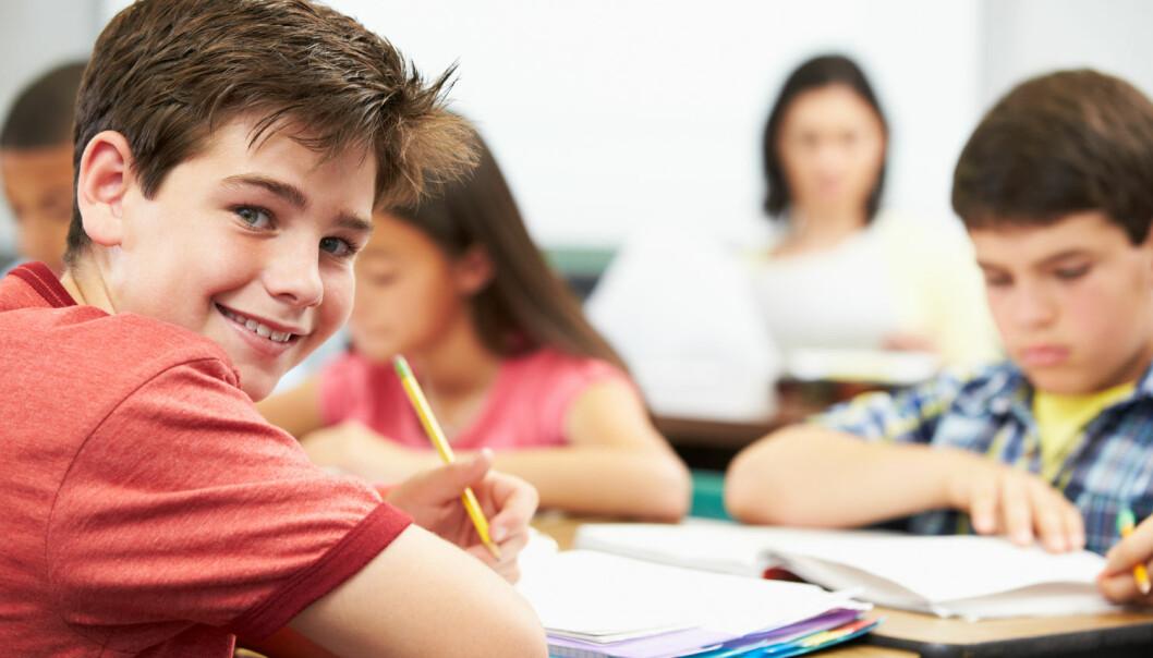 De optimistiske barna, som trodde på den amerikanske drømmen, klarte seg bedre i den første tiden på mellomtrinnet. Men etter hvert som årene gikk snudde det helt.  (Foto: Shutterstock / NTB scanpix)