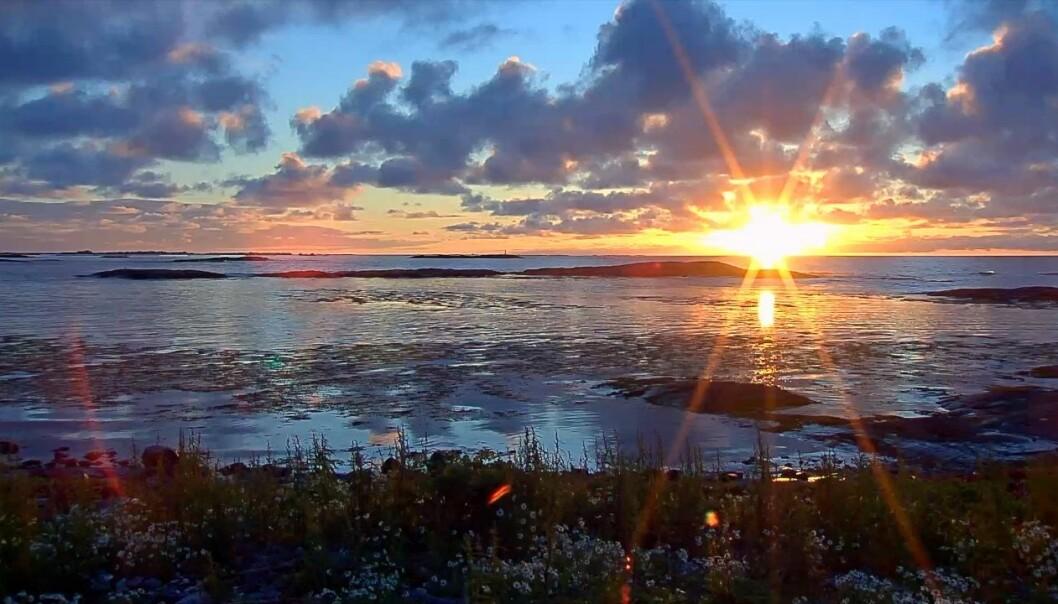 Havgapet vest for Smøla (Foto: zooom.no)