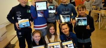 Elever i Hamar åpnet UNG.forskning.no