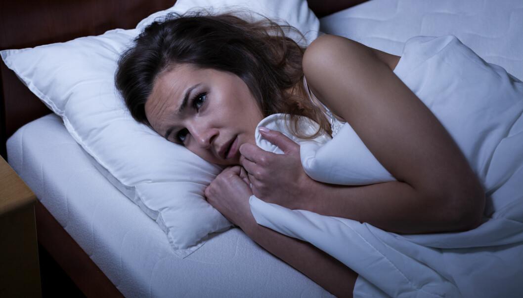 Hjernen vår vasker bort bekymringer og tunge tanker i løpet av REM-søvnen, eller drømmesøvnen. Forskere har observert at deprimerte personer har en annen drømmesøvn enn friske. (Foto: Shutterstock)