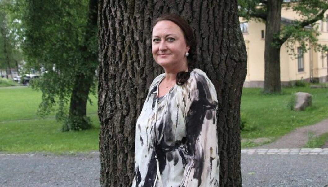 Marianne Løkens doktoravhandling handler om jenter som har valgt å studere realfag og hvorfor. (Foto: Susanne Dietrichson)