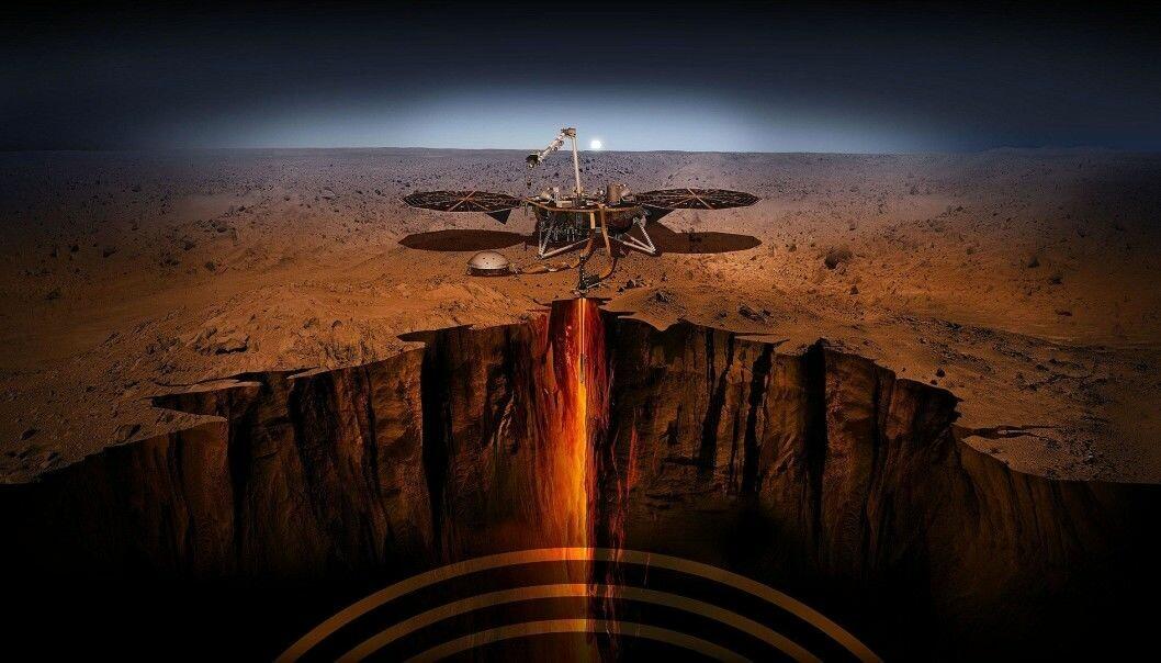 Hva skal InSight gjøre på Mars?