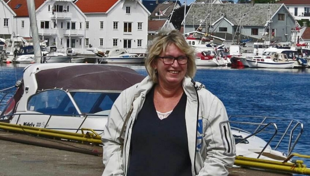 Snart får alle over en viss alder tilbud om tarmkreft-sjekk. Turid Wannberg Jensen fikk tarmkreft for fire år siden og ble operert. - Jeg tror en avføringsprøve hadde vært det beste, sier hun. Hennes svulst lå høyt oppe i tarmen og hadde neppe blitt oppdaget ved kun kikkertsjekk av nedre del. (Foto: privat)