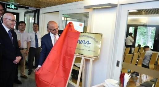 NIVA åpnet i Kina