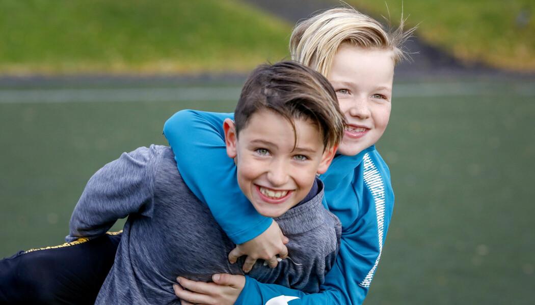 Mer fysisk aktivitet i skolen kan bidra til at barn knytter sterke sosiale bånd. Men noen kan også falle utenfor. (Illustrasjonsfoto: Gorm Kallestad / NTB scanpix)