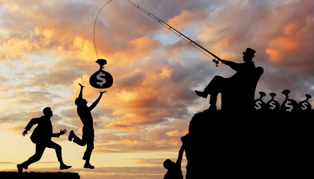 Jo mer ulikhet, desto mer motivert er overklassen for å bevare posisjonen sin. (Foto: Prazis Images / Shutterstock / NTB scanpix)