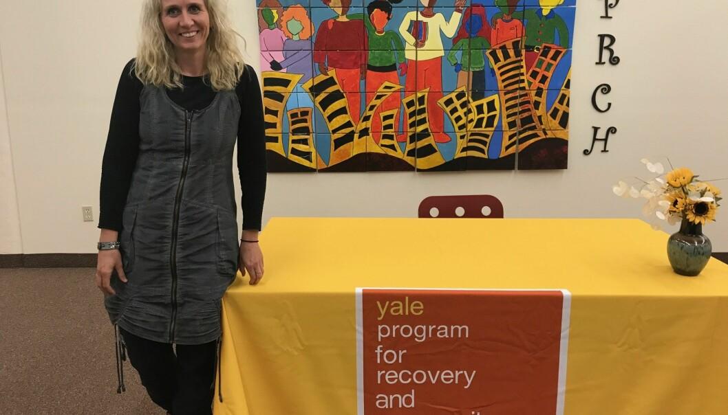 Kristin Berre Ørjasæter var på forskningsopphold på Yale School of Medicine. Hun anbefaler andre forskere å dra ut. (Foto: privat)