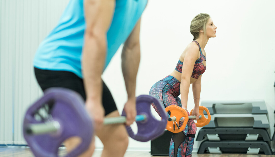 Forskere har studert effekten av ulike typer styrketrening. Den populære gruppetimen Bodypump fikk blandede resultater. (Foto: Shutterstock / NTB Scanpix)